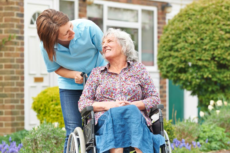 Elderly Care for Seniors in Wheelchairs