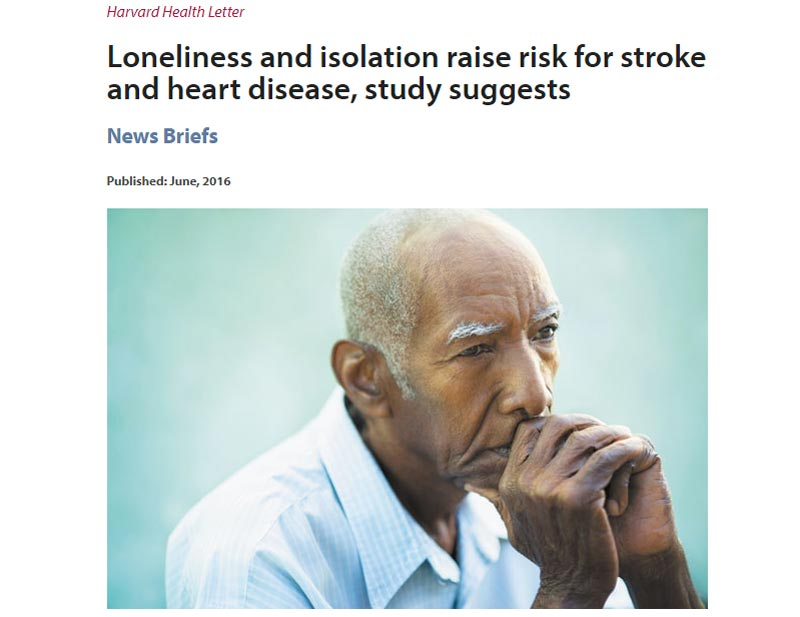 Harvard Health Loneliness Study