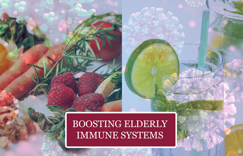 How to strengthen a senior's immune system