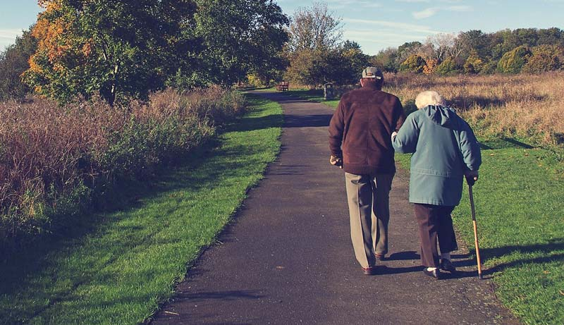 Seniors Spend Time Outside Every Day